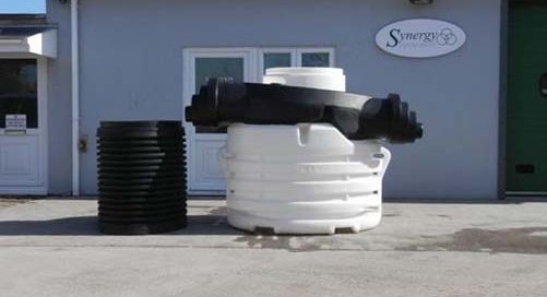 Bypass Separator NSB3 & Extension Turret