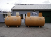 Low Profile Septic Tank