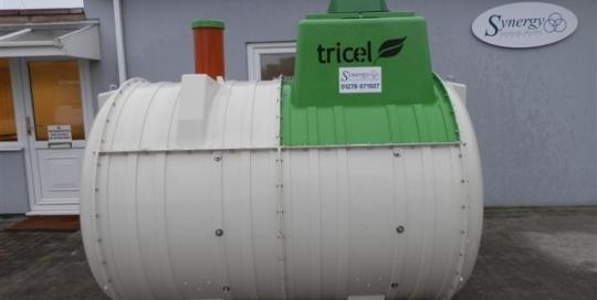Tricel P6 UK Gravity Sewage Treatment Plant