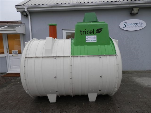 Tricel P6 UK Gravity Sewage Treatment Plant